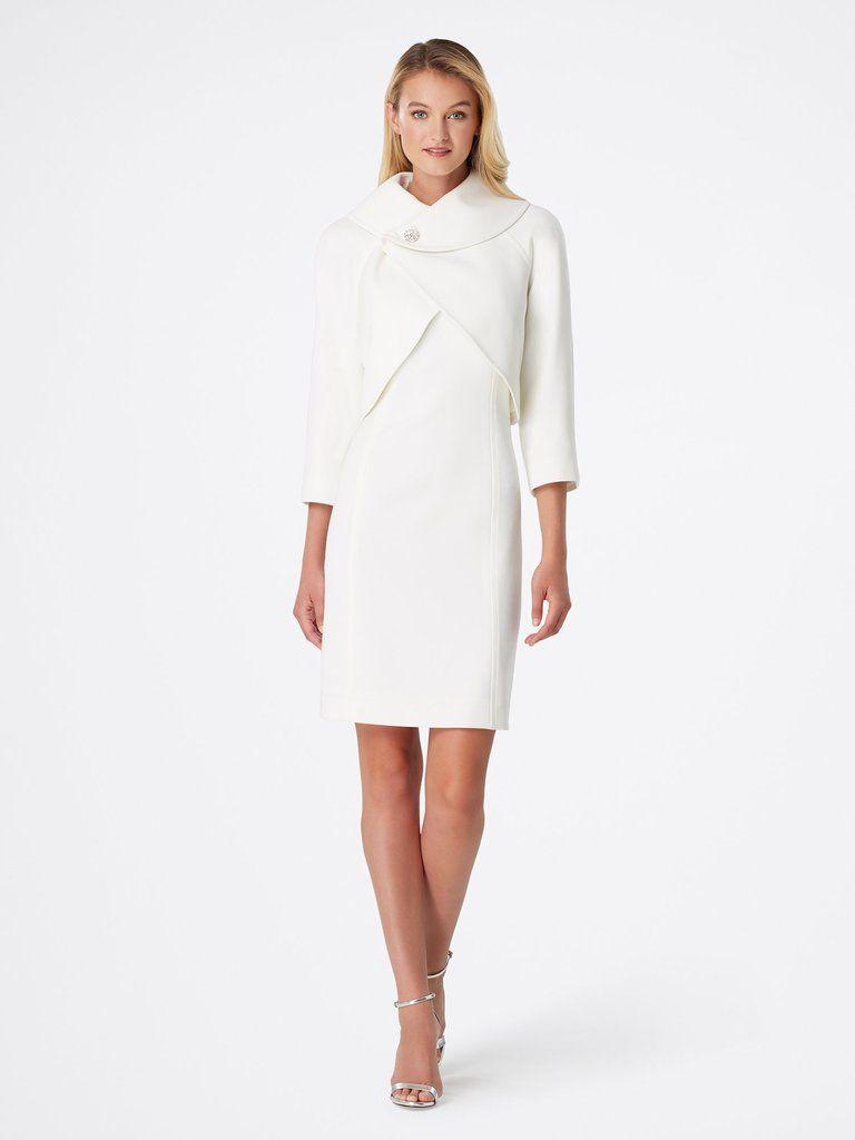 68c57d3ade Jacket Dress, High Neck Dress, Dresses For Work, Zipper, Collars, Slip