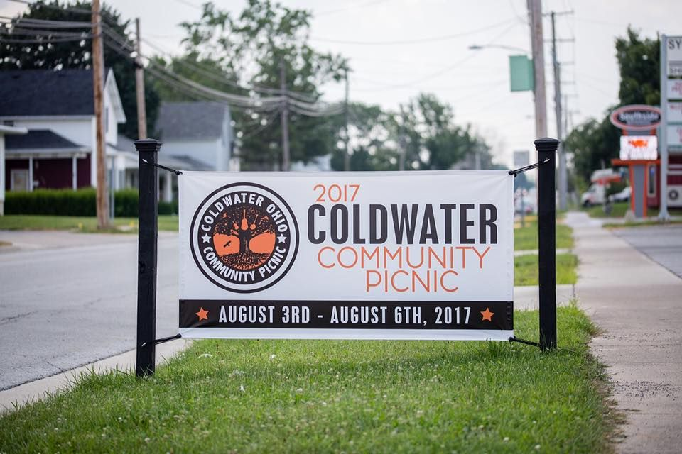 Tbn18ds3x6 3x6 Double Sided Vinyl Banner The Coldwater Community Picnic Is Officially In Full Swing With Beautiful Weather A Da Vinyl Banners Banner Vinyl
