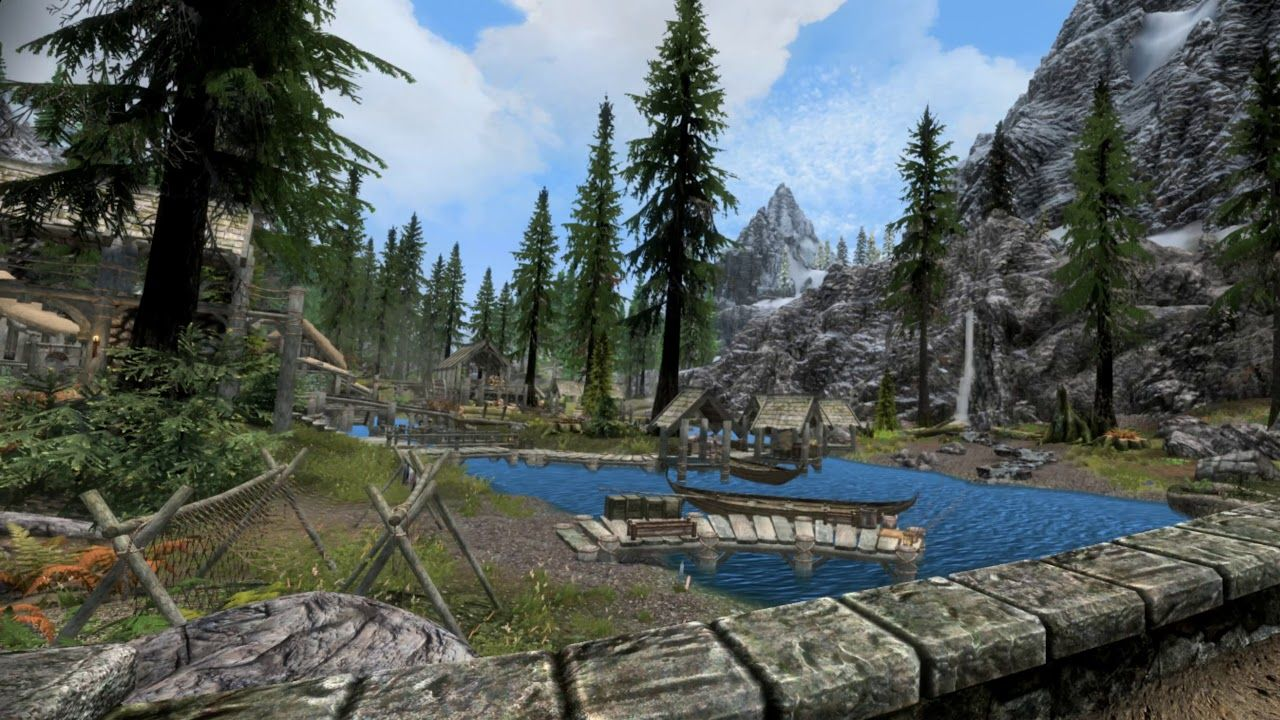 Skyrim VR PC with 4K textures and modded spells (96 Mods