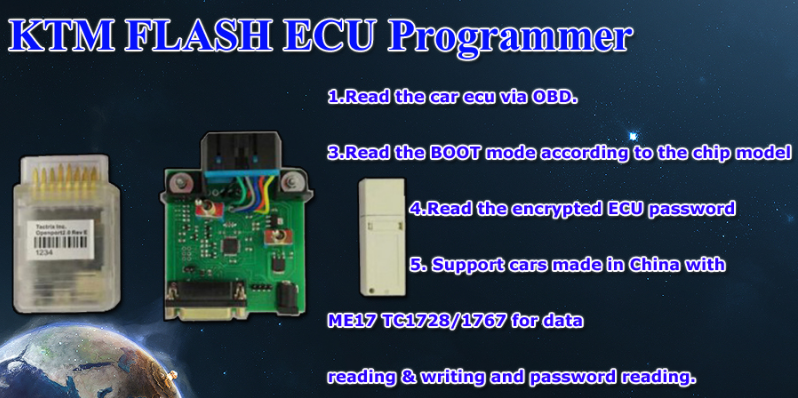 KTM FLASH KTMFLASH Car ECU Programmer Supports VAG DQ200