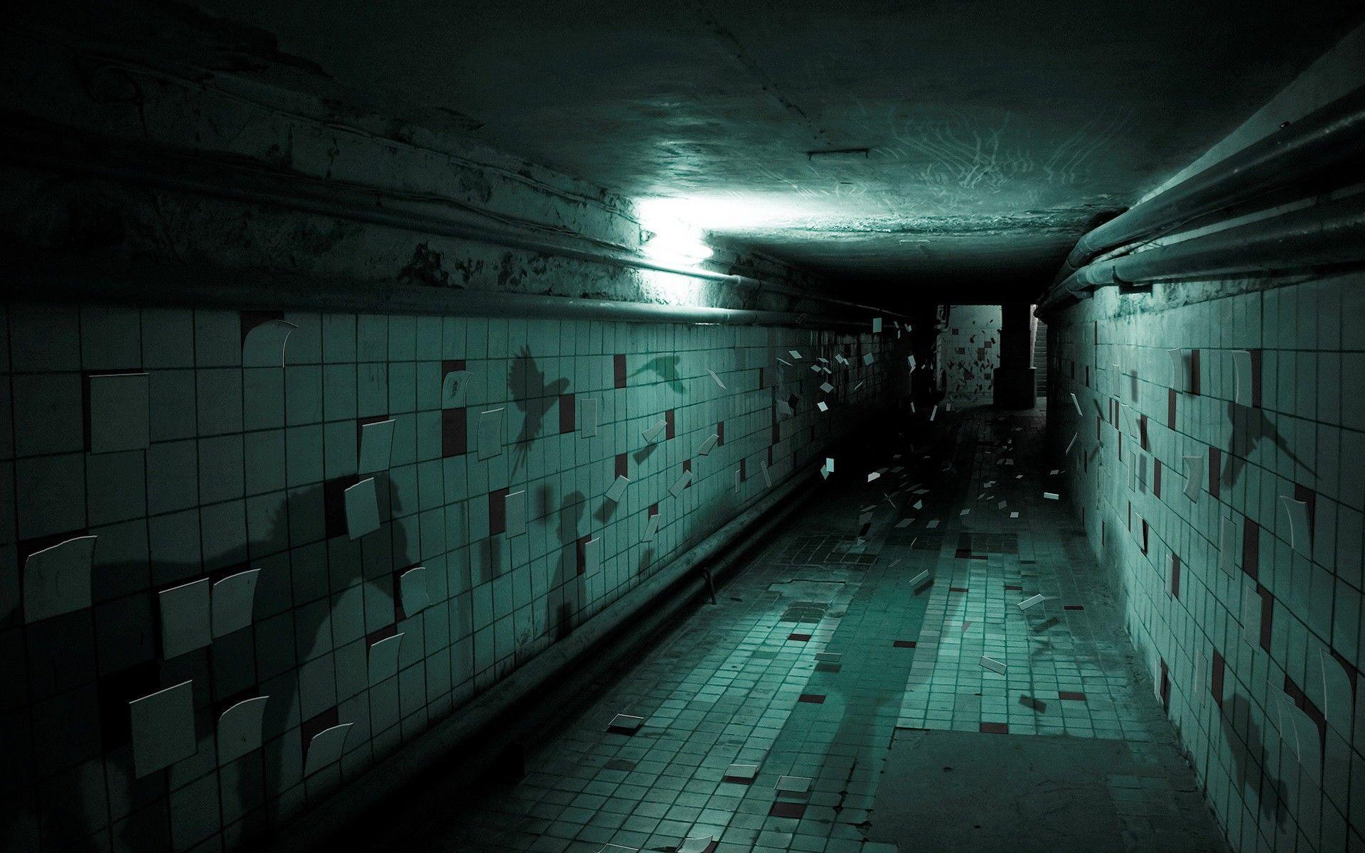 Dark hallway wallpaper  dark stairs render shadow hallway digital art wallpaper