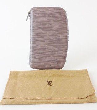d9fd61f76dcf Authentic Louis Vuitton Epi Leather Lilac Geode Organizer Zippy Wallet  625