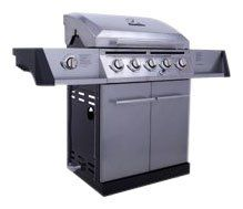 Char Broil Classic 55 000 Btu 5 Burner Gas Grill W Side Burner