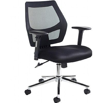 Granthan Operator Fabric Mesh Chair I Office Design Home Corporate