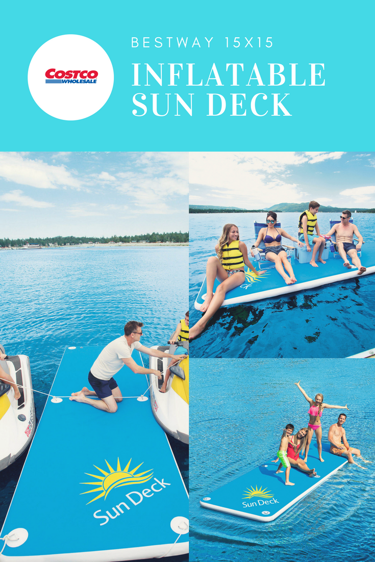 Inflatable Sun Deck 15 Feet Long A Unique Line Of More Grown Up
