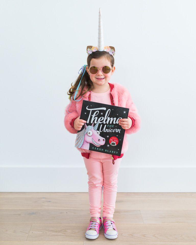 Girls Magical Unicorn Costume Kids School Book Week Fancy Dress Outfit Story