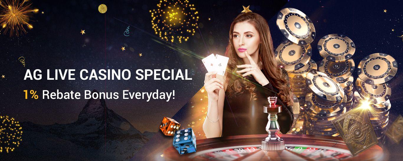 Ag Live Casino 1 Rebate Casino Top Online Casinos Casino
