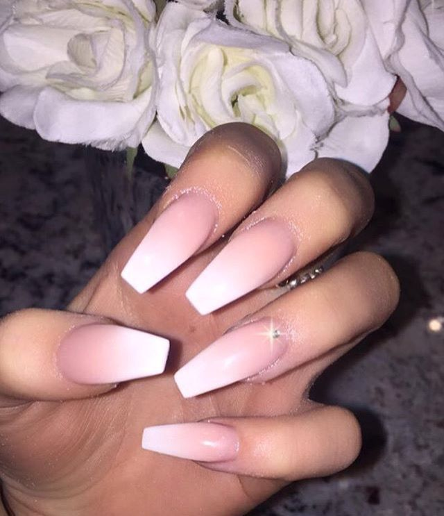 Pinterest Lauriebondd Instagram Lauriebondd Pink Ombre Nails Coffin Nails Designs Prom Nails