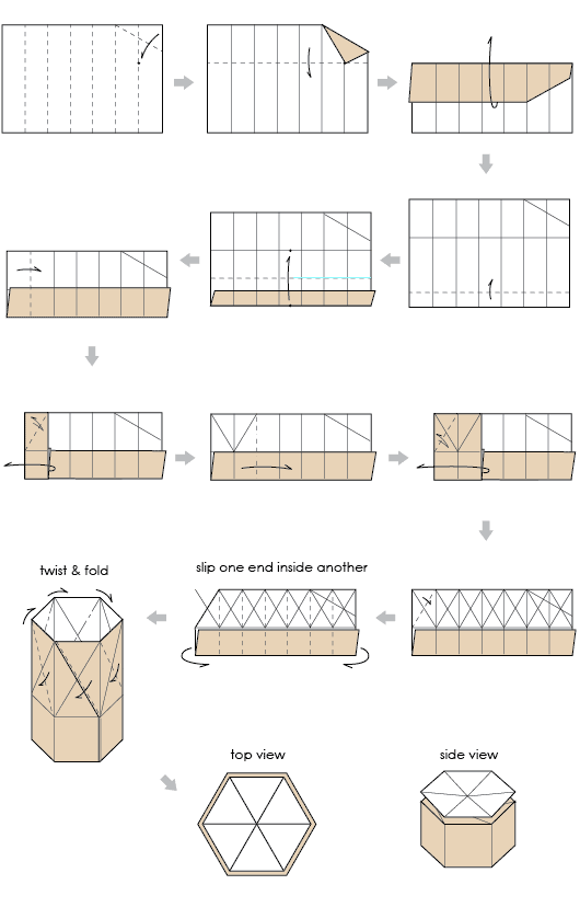 fold paper boxes