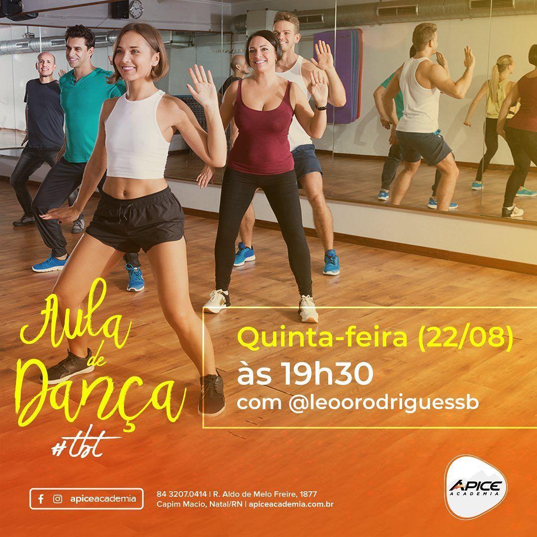 Amanhã é dia de relembrar sucessos e cair na dança! O professor @leoorodriguessb preparou uma aula p...