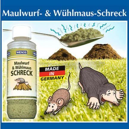 Wenko Maulwurf Wuhlmaus Schreck 1 Pack Maulwurf Vertreiben Maulwurf Tierfutter