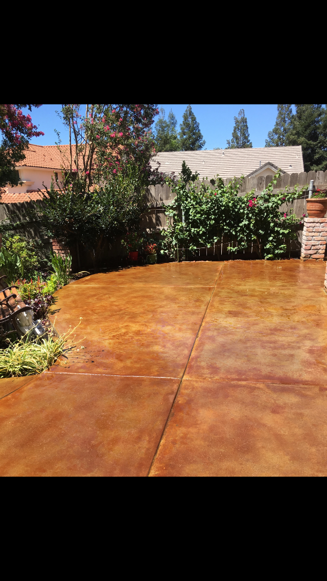 Pin On Concrete Patio Makeovers