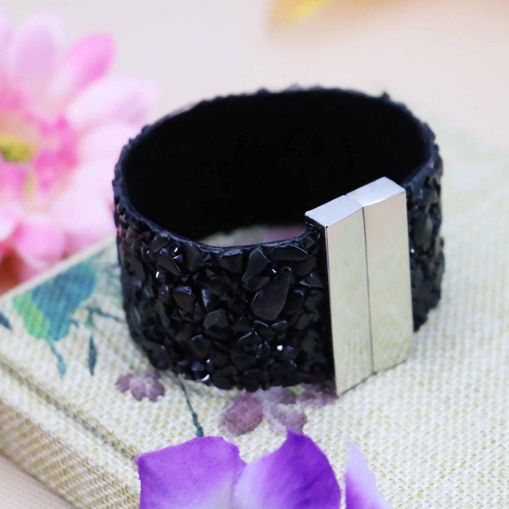 Cm hot sale black agate loose beads loose bracelets brace lace