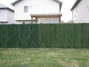 Green Hedge Link Privacy Fence Slats For 4 Foot Ft Chain Link