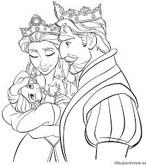 Resultado De Imagen Para Princesas Disney Bebes Rapunzel Para Colorear Tangled Coloring Pages Rapunzel Coloring Pages Princess Coloring Pages