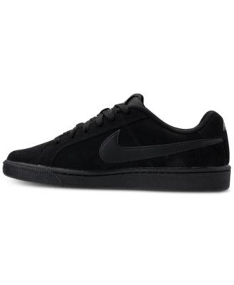 aaeed8b96f3 Nike Men's Court Royale Suede Casual Sneakers from Finish Line ...