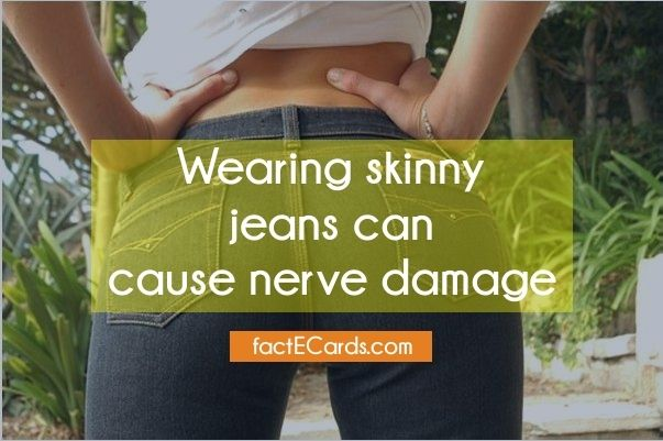 Do skinny jeans cause nerve damage