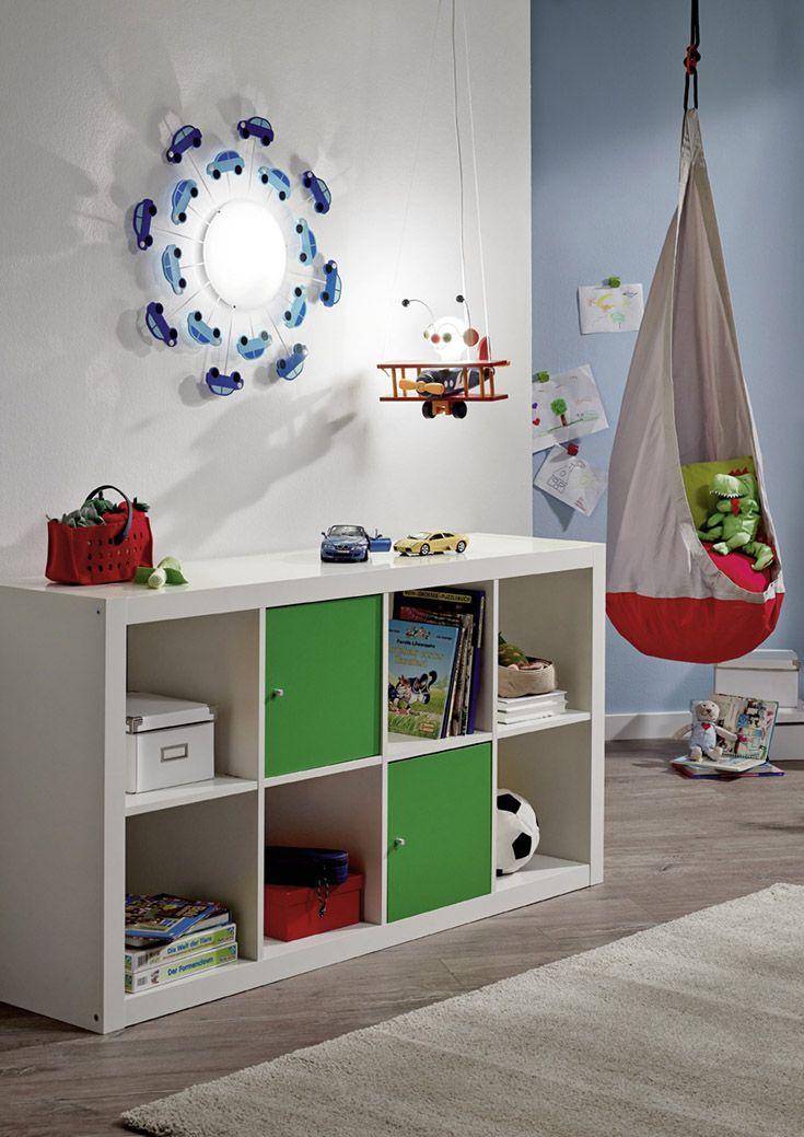 Perfekt für das Jungen Kinderzimmer. Die Wandleuchte hat