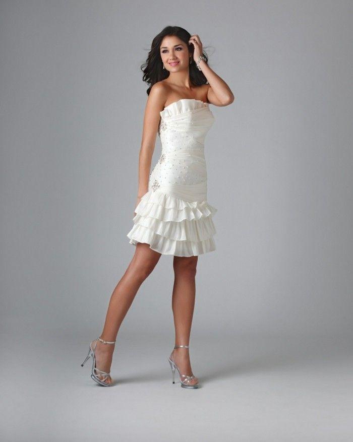 105 verblüffende Ideen für weißes Kleid! - Archzine.net