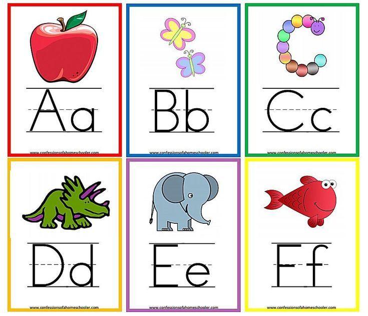 10 sets of printable alphabet flashcards alphabet flash