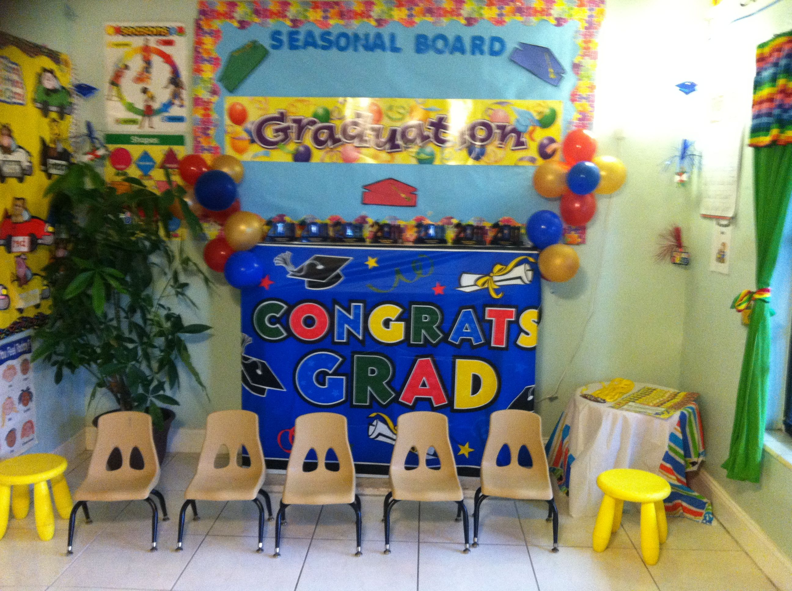 Graduation Party Ideas For Preschool
