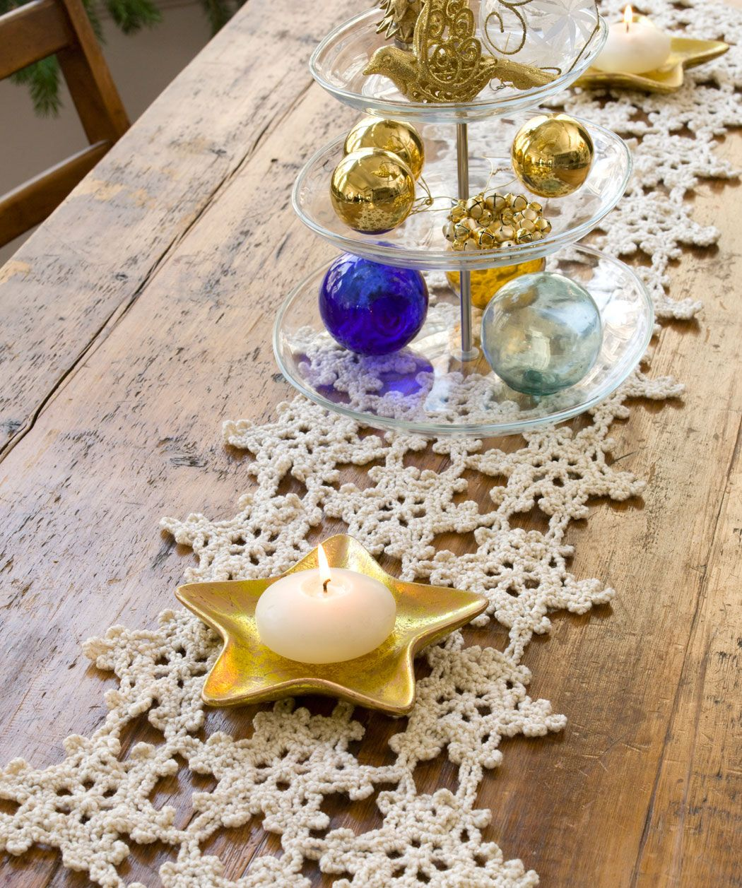 snowflake table runner from \