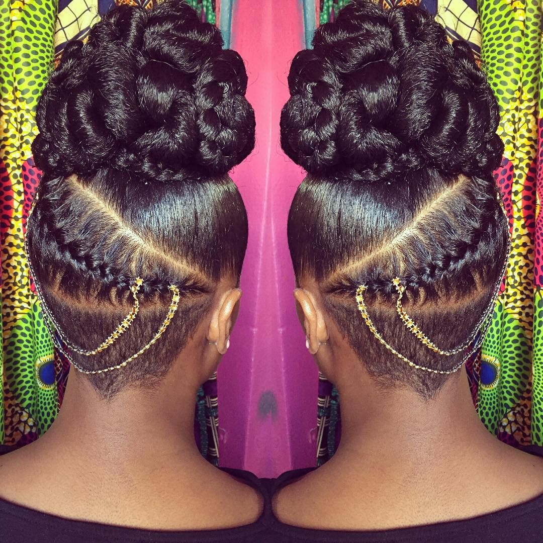 Pin By Ashley Brown On Dontouchmyhair Natural Hair Styles Natural Hair Updo Braids For Black Hair