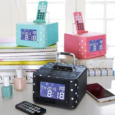 Exceptionnel Groove And Go Bluetooth Alarm Clock #pbteen