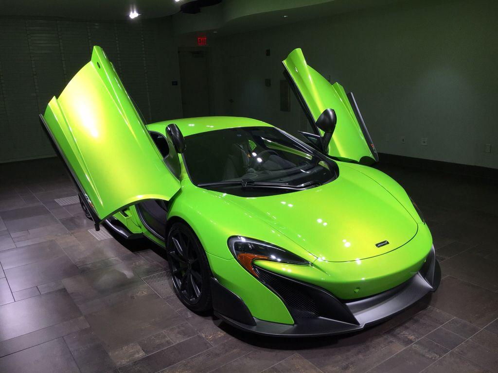 McLaren 675 Long Tail. Napier Green available @mclarenpalmbeach 855 ...