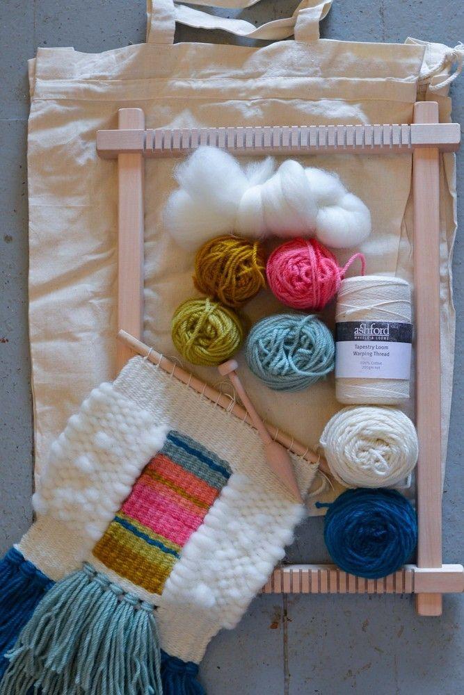 c27688e6ff Image of springtime tapestry weaving kit