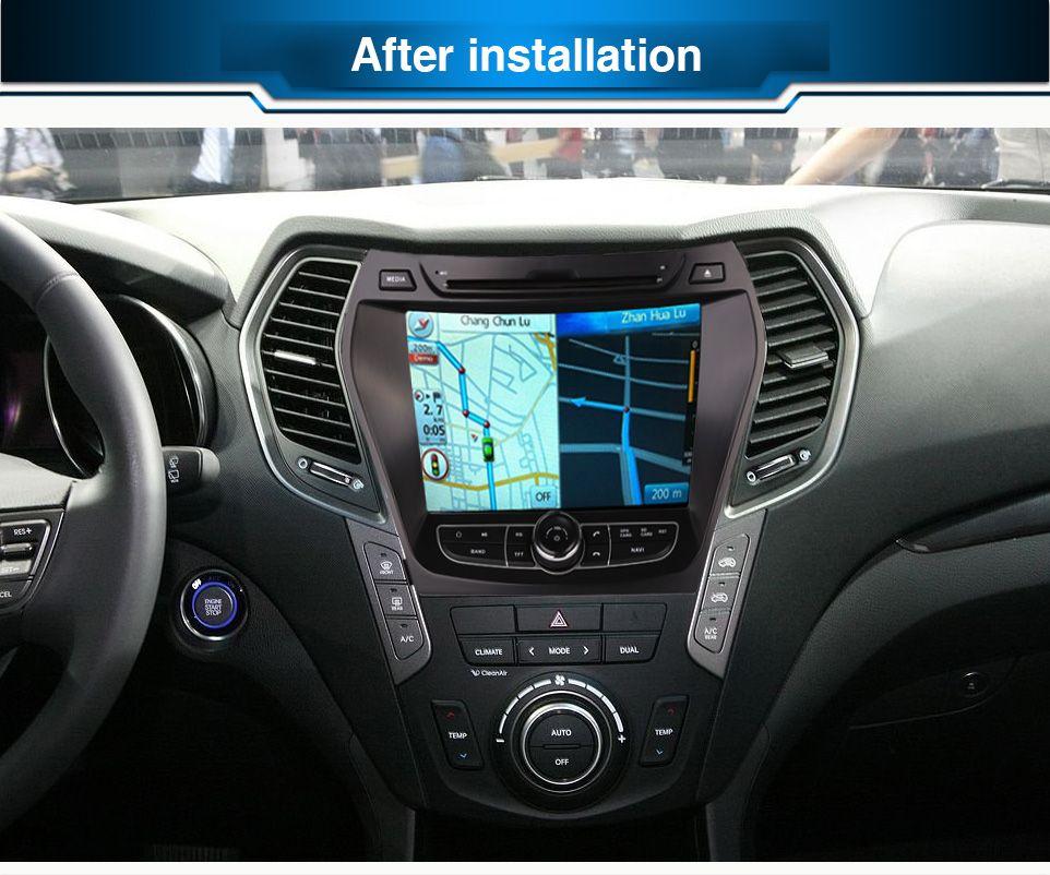 Ram 2gb Hd Android 7 1 Fit Hyundai Santa Fe Ix45 2013 2014 Car