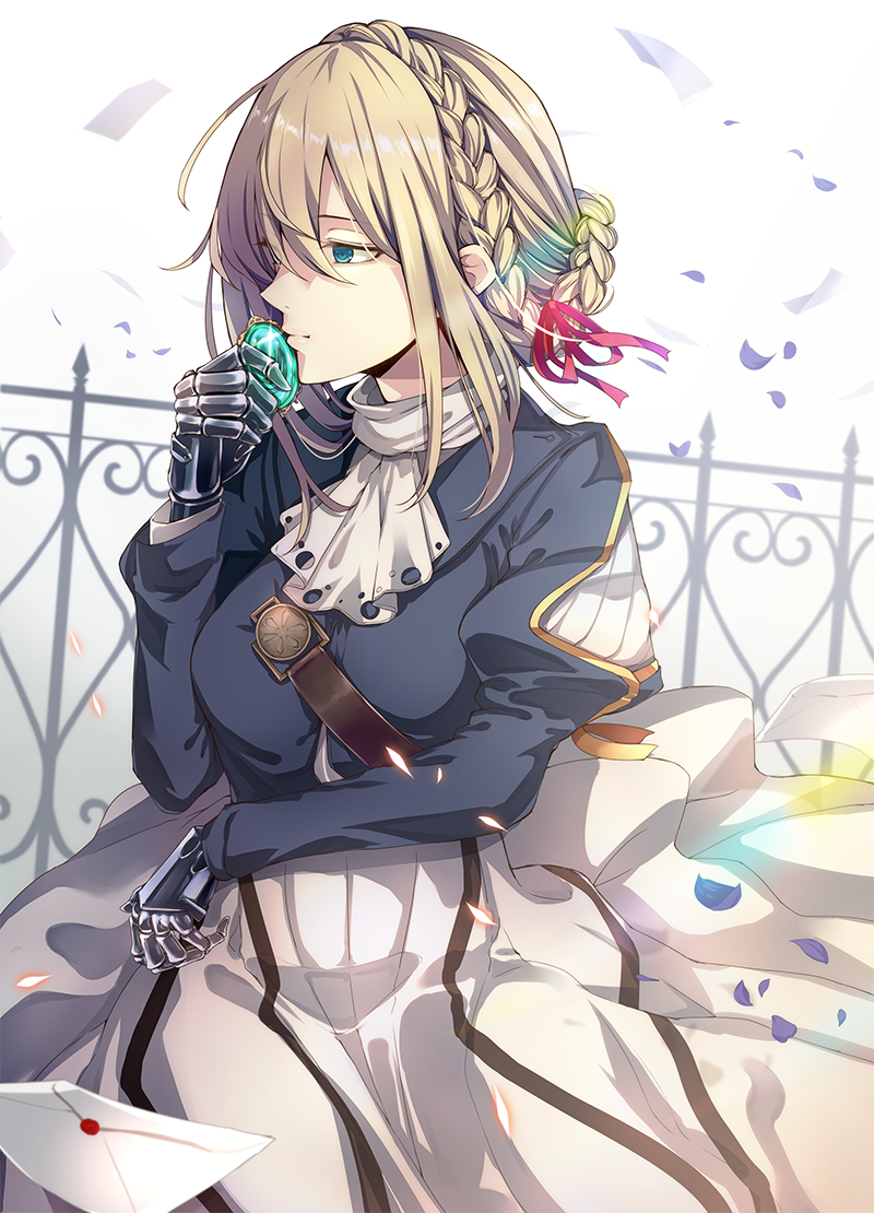 Pin by constance on violet evergarden pinterest violets anime