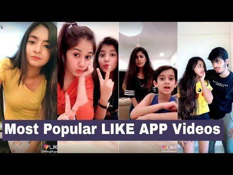 Most Popular Like App Videos Of November Jannat Zubair Anushka