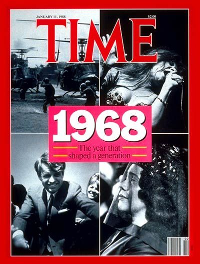 Time Magazine Cover 1968 Jan 11 1988 Life Magazine Covers Magazine Cover Time Magazine
