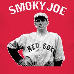 Baseball Boston Smoky Smokey Joe Wood Pitcher T Shirt