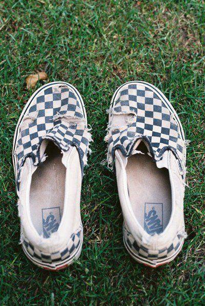 the classic checkerboard slip-on