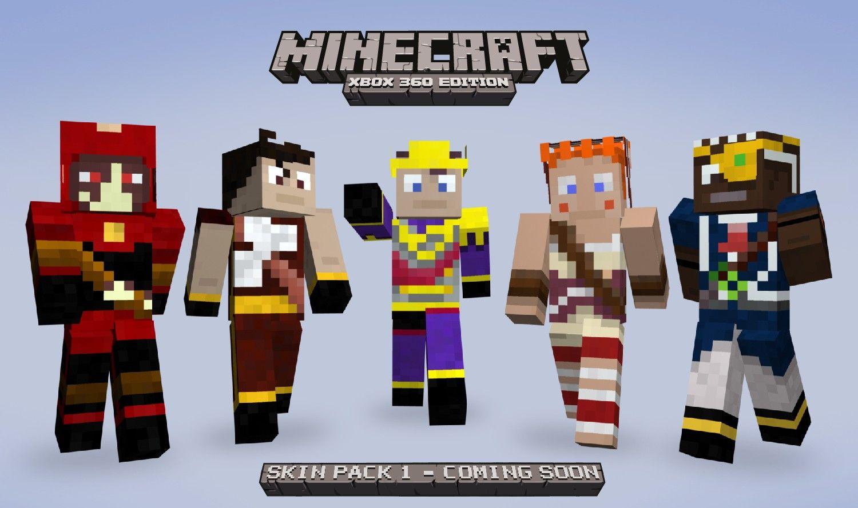 Minecraft Skin Heroes Pack