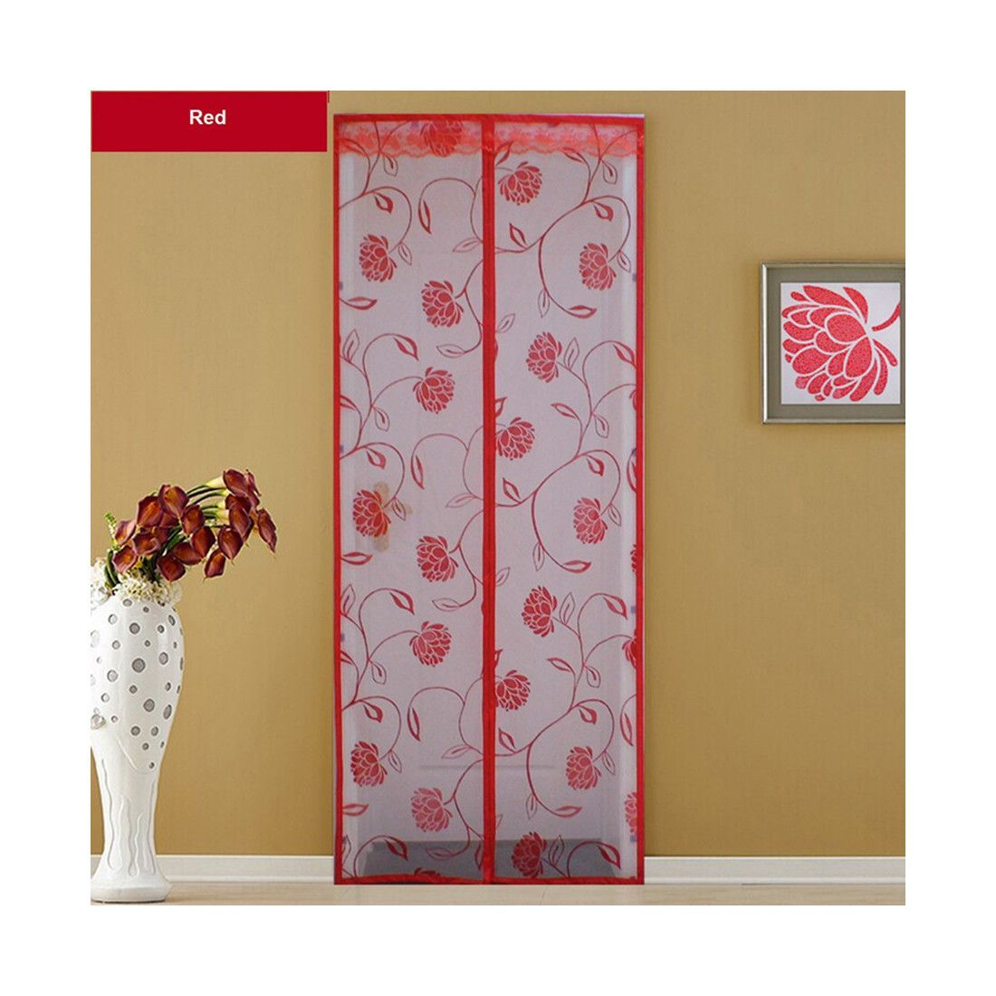 Factory Direct Mosquito Yarn Curtain Magnetic Soft Screen Door