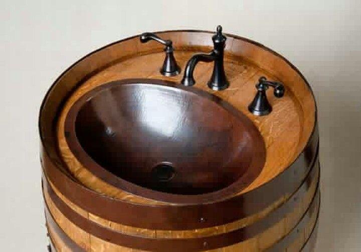 Keg = sink