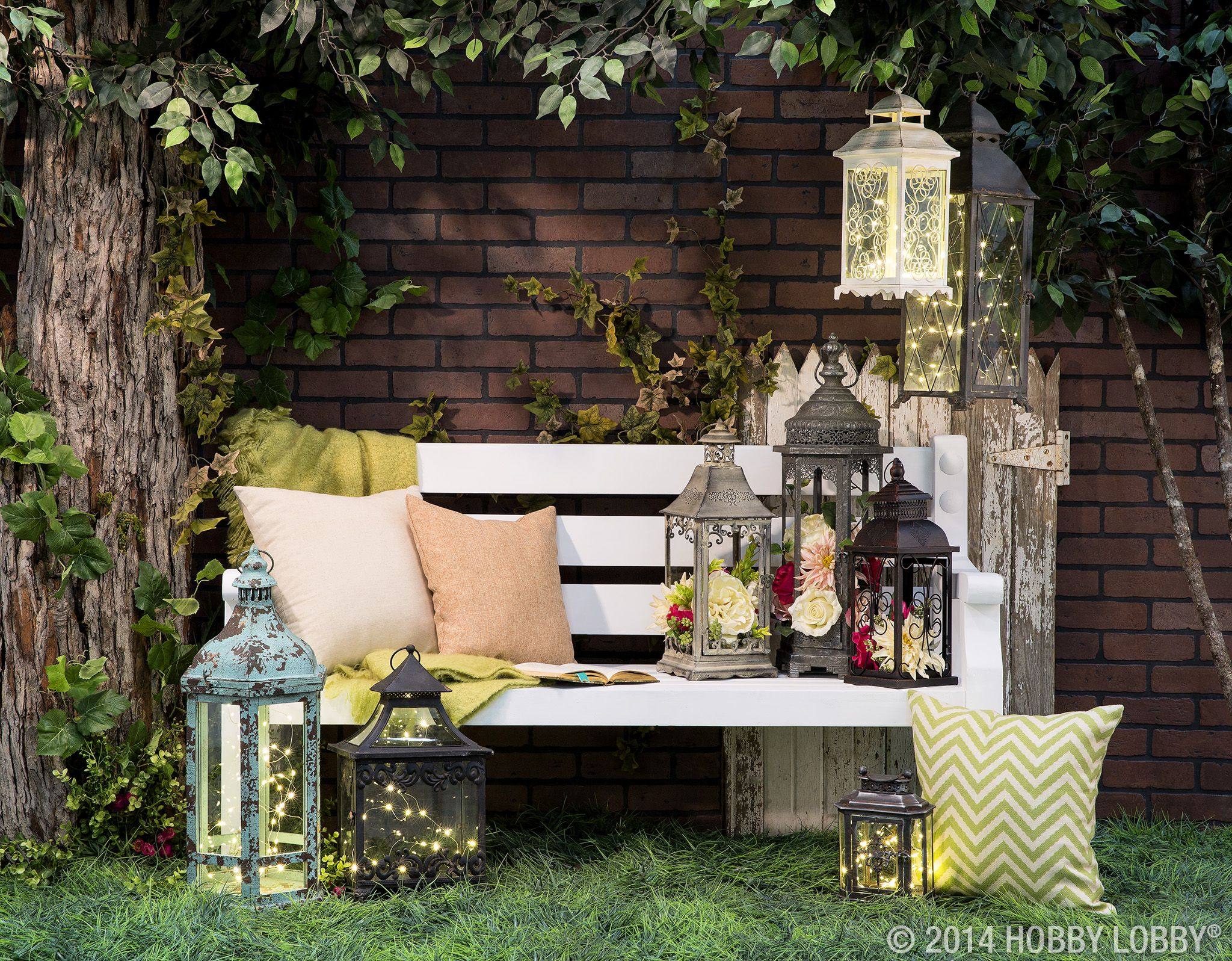 Hobby lobby garden decor  Add ambience and charm to your patio with beautiful vintagestyle