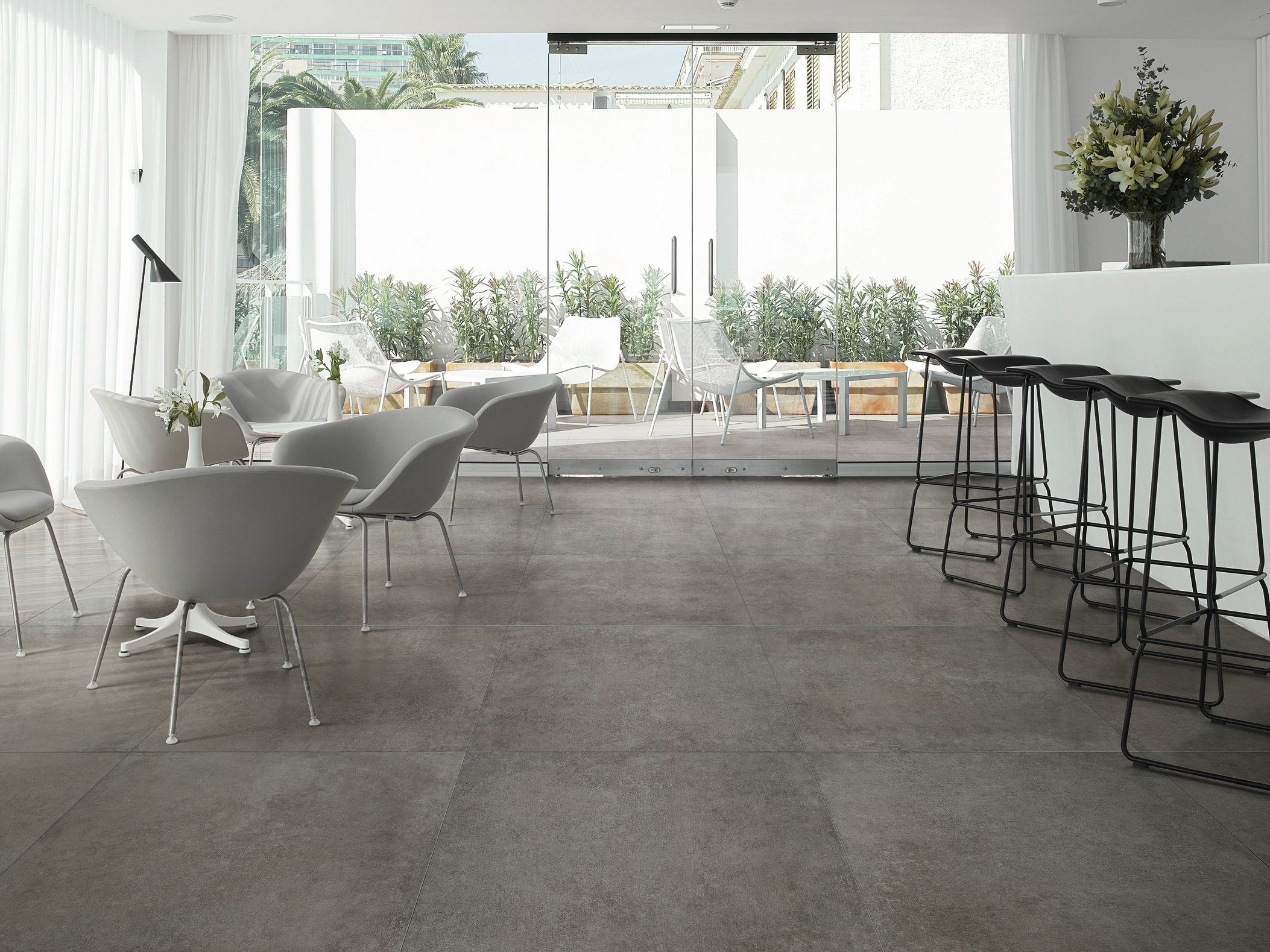 Porcelain stoneware wallfloor tiles with concrete effect memories porcelain stoneware wallfloor tiles with concrete effect memories by ceramica santagostino dailygadgetfo Image collections