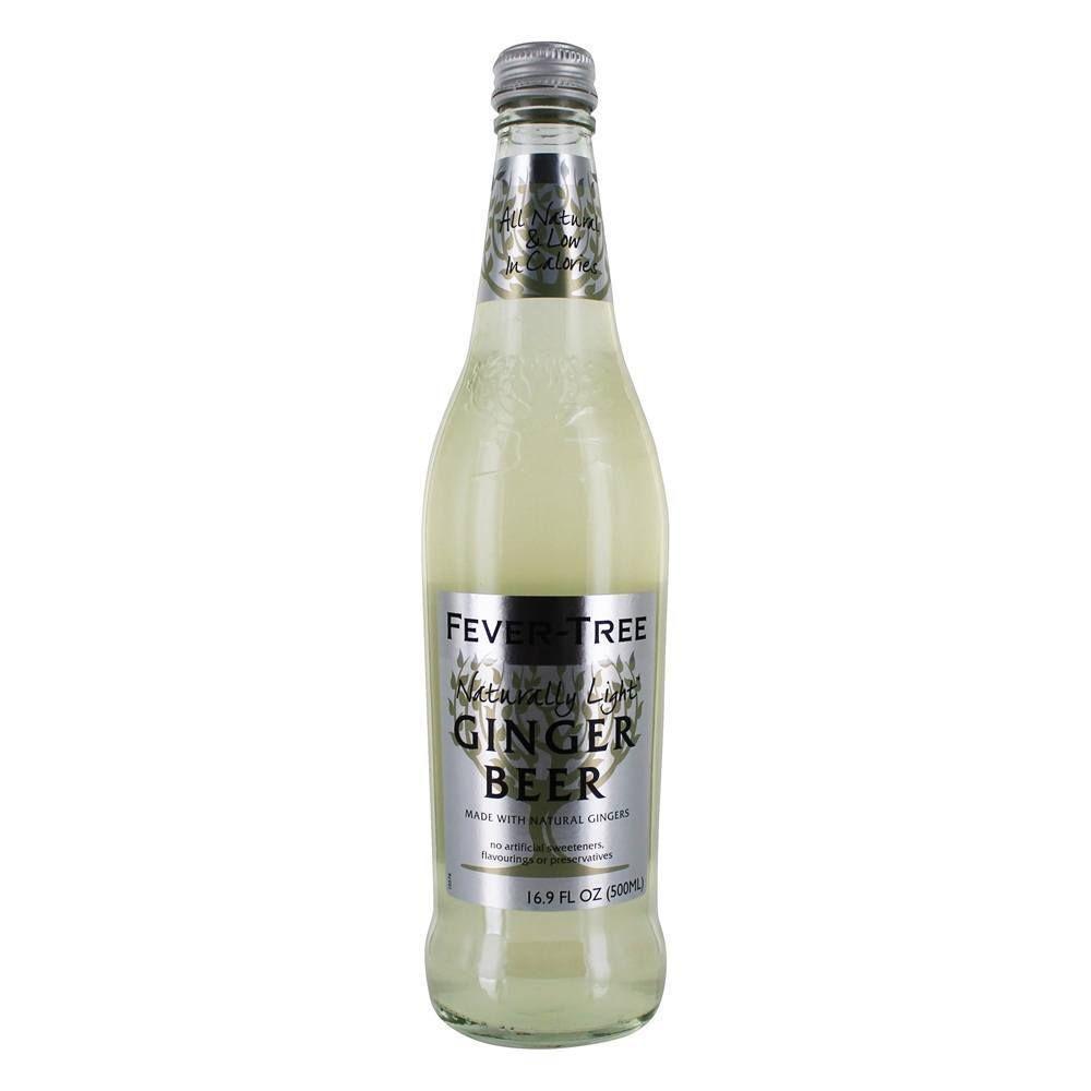 FeverTree Naturally Light Ginger Beer Mixer 16.9 fl
