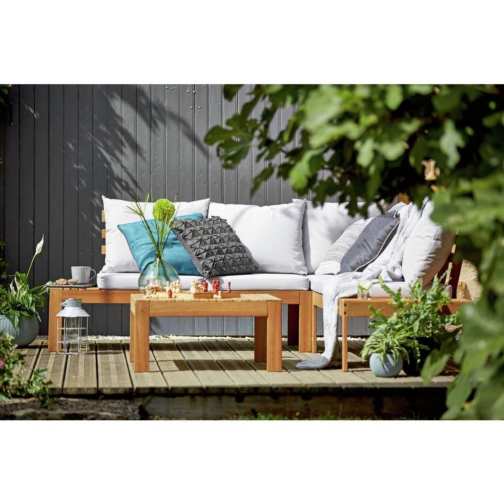 Buy Argos Home 6 Seater Wooden Corner Sofa Set Patio Sets Argos In 2020 Corner Sofa Garden Corner Sofa Set Wooden Garden Furniture