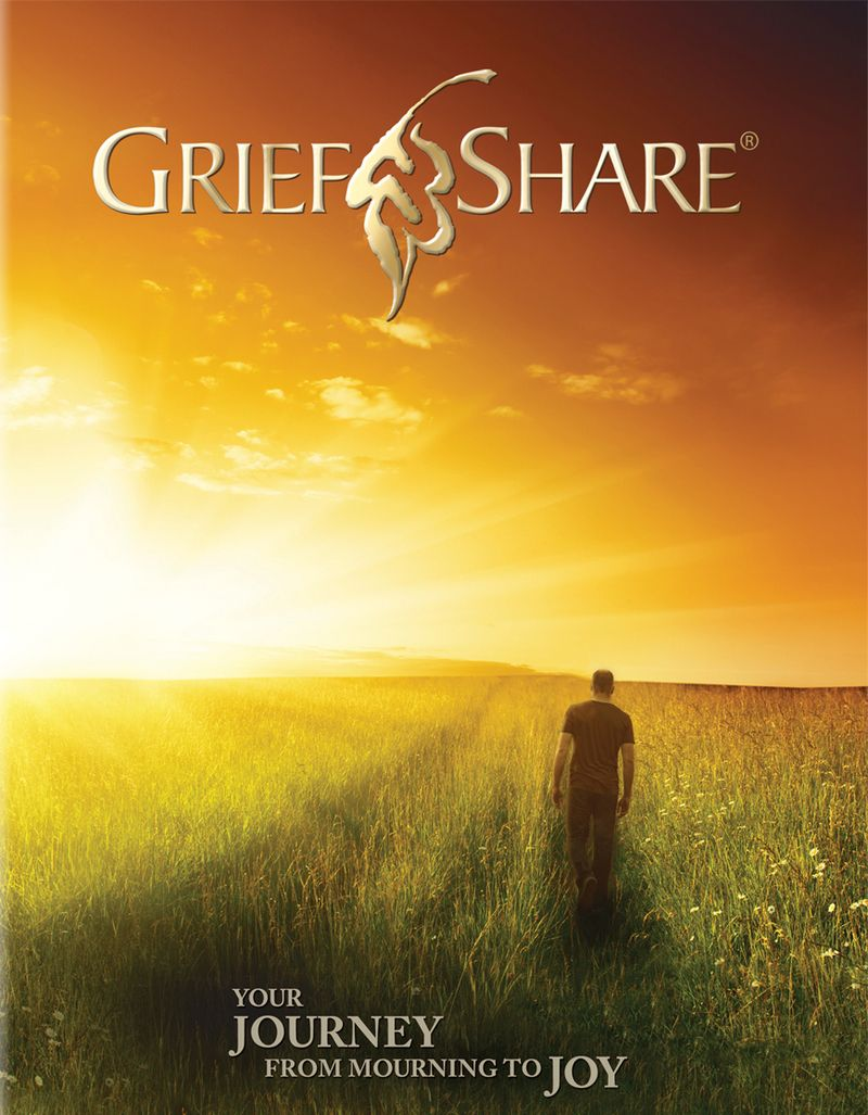 This beautiful image is the cover of the all-new GriefShare ...