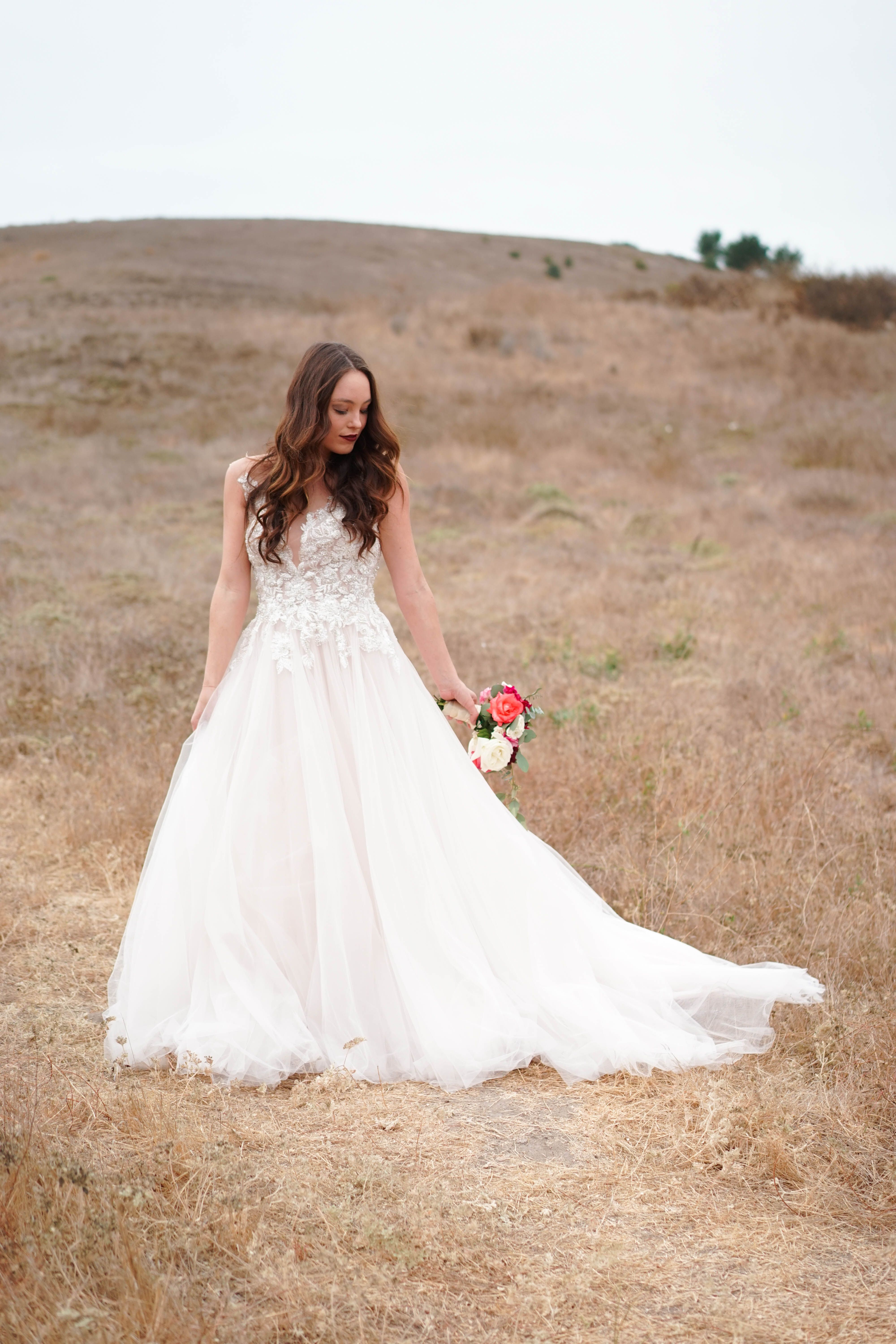 Orange County, California Wedding Planner. Romantic bridal gown ...