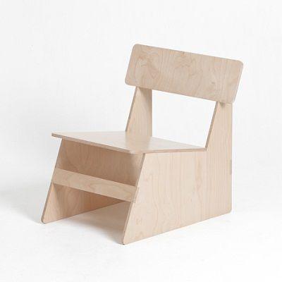 Cuatro Sillas de la Misma Madera, Muebles de Diseño, Modernos y
