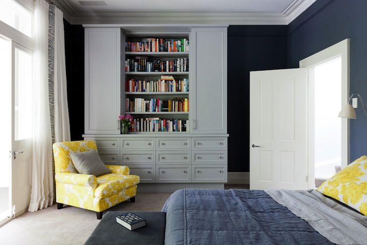 Great Arent U0026 Pyke   Bedrooms   Blue And Yellow, Blue And Yellow Bedrooms, Blue  And Yellow Design, Contemporary Blue And Yellow Bedrooms, Bold Blu.
