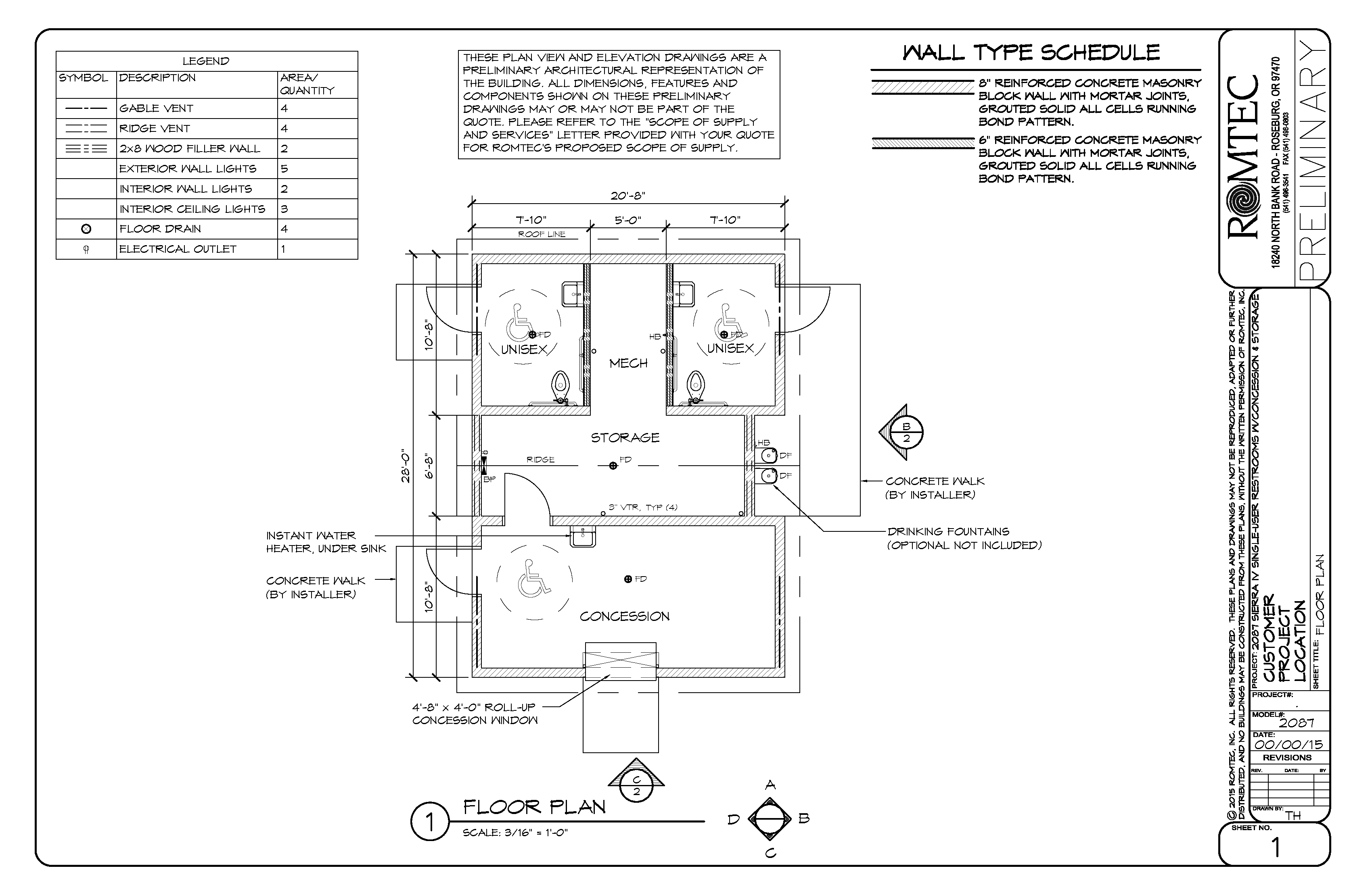 Large Concession Building Floor Plan Floor Plans Interior Wall Lights Concession