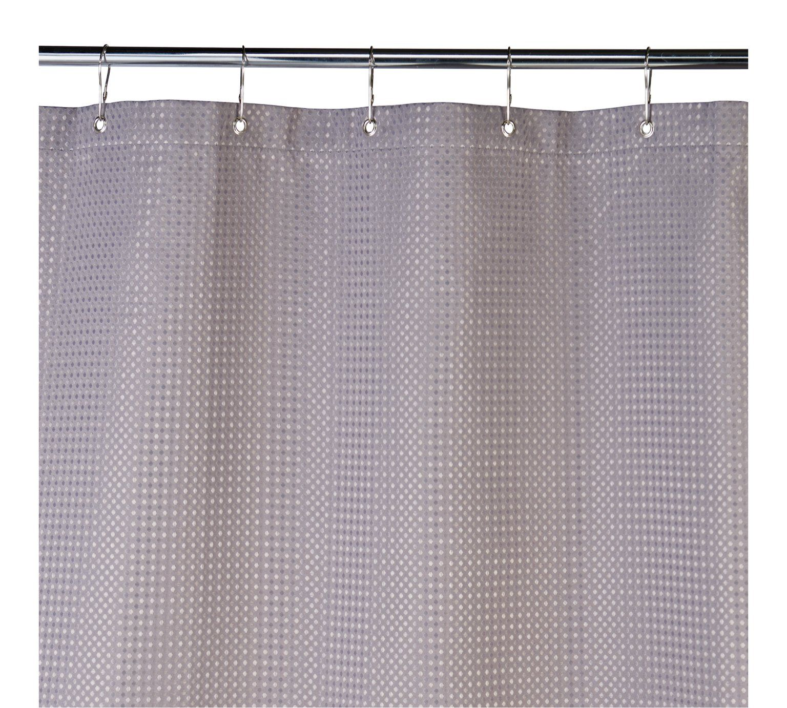 Buy Argos Home Shower Curtain Grey Waffle Shower Curtains