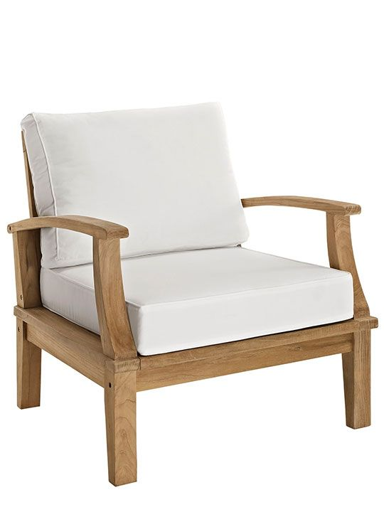 Teak Outdoor Armchair